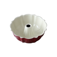 Fluted Pan Red