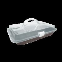 Covered Cake Pan