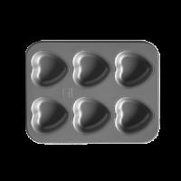 6 Heart Pan